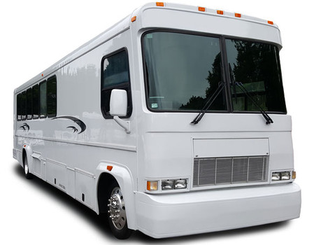 29 Passenger Party Bus with LED lighting, lazer lights and Plasma TV