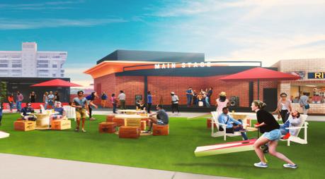 Busch Stadium's new Budweiser Terrace
