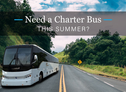 Booking a Charter Bus this Summer!
