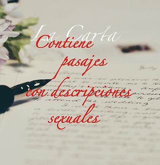 Portada cuento La Carta, una historia por capítulos
