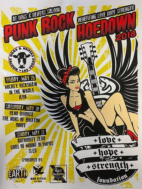 2018 Punk Rock Hoedown