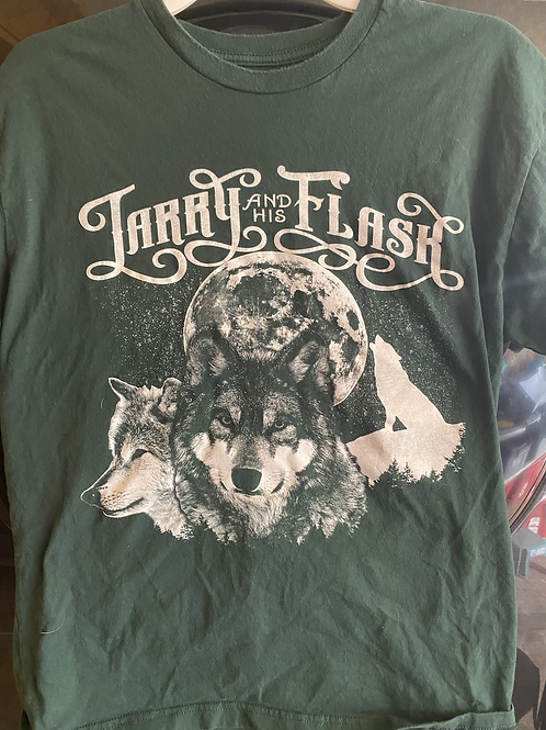 Larry and His Flask Wolves Tshirt