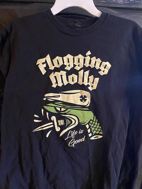 Flogging Molly Spring 2017 tour shirt
