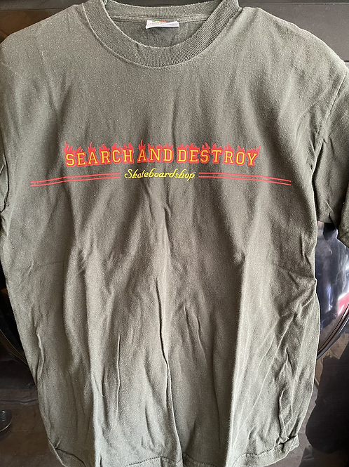 Search and Destroy Skateboard Shop Tee