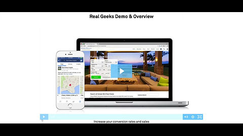 Real Geeks Website and CRM