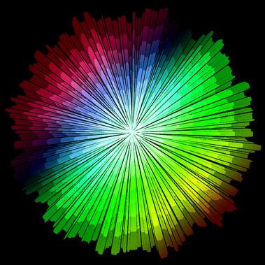 The Rainbow Burst