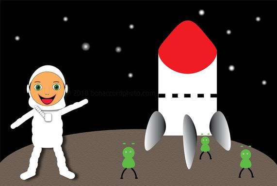 Archie The Astronaut