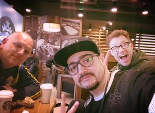 Frukost på Arlanda.
