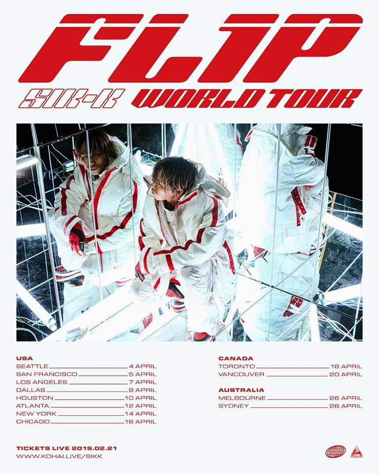 FL1P SIK-K World Tour