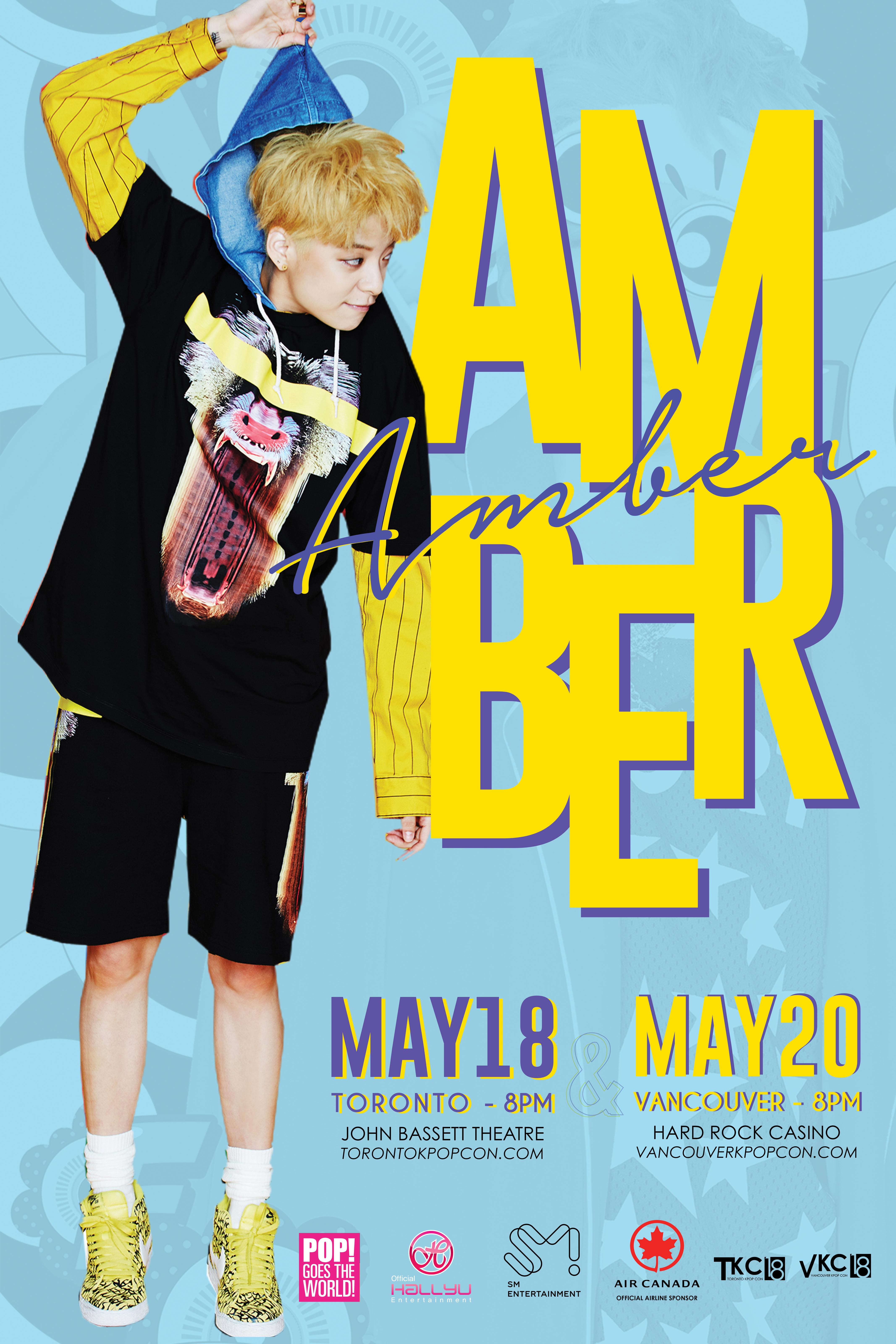 kpop con 2018 amber