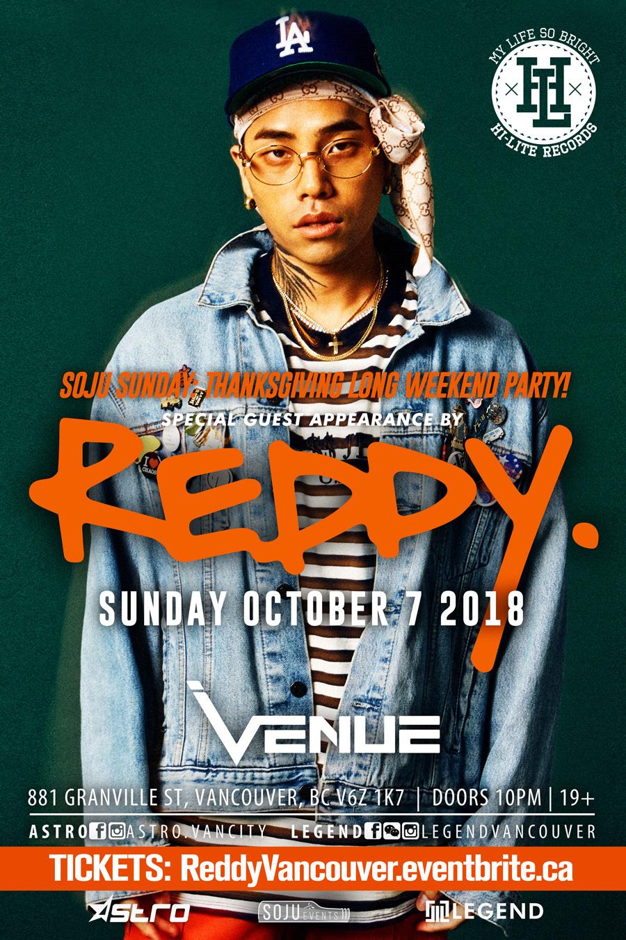 Reddy@Soju Sunday