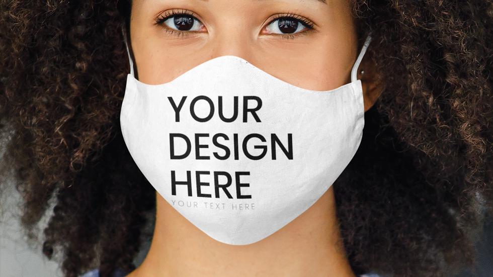 Unisex Custom Adult Face Mask