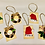 Thumbnail: Handcrafted Wooden Ornament Set