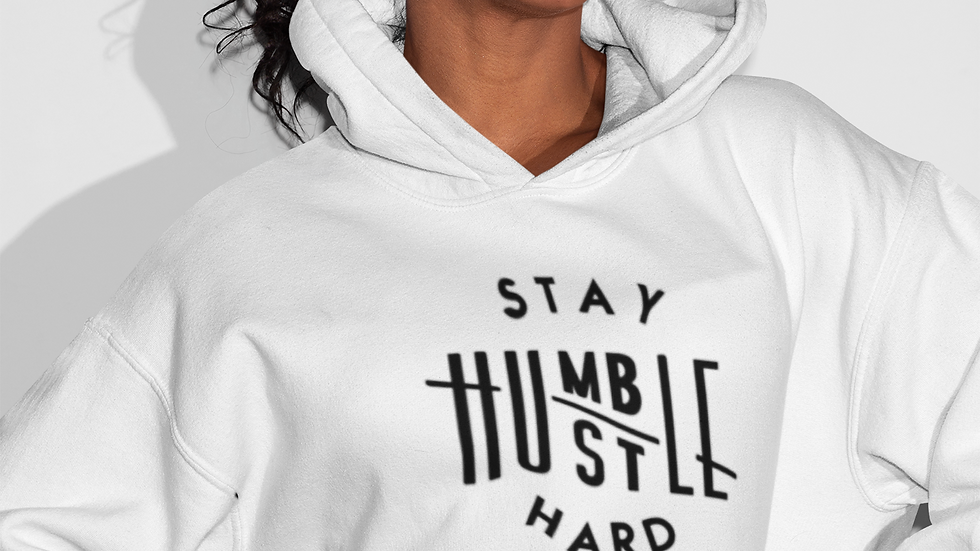 """Stay Humble Hustle Hard""  Women's Hoodie"