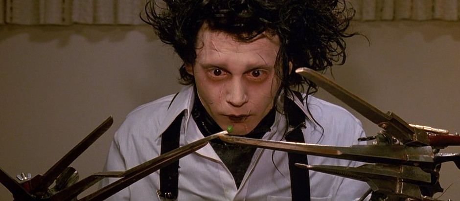EDWARD SCISSORHANDS Is The Key To Understand Why Tim Burton Makes So Many Remakes