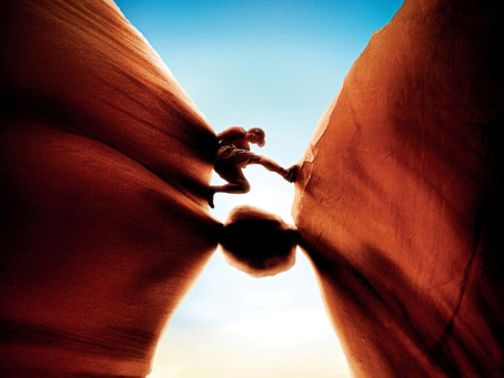 127 Hours - There's no freaking way I'm cutting my arm off