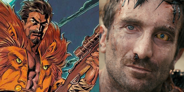 Hire Sharlto Copley as Kraven the Hunter, cowards