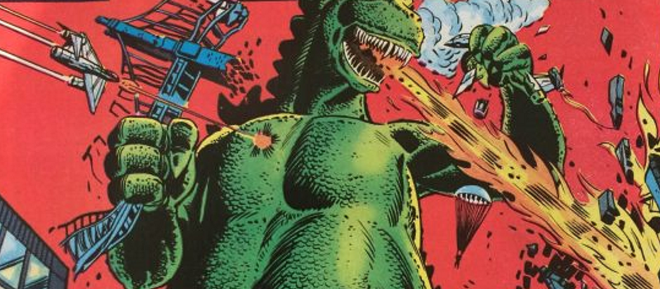 That time Godzilla rampaged through the Marvel Universe