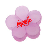 1405 5-COMPARTMENT FLOWER SHAPE PILL BOX