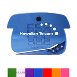 1262-M TRANSLUCENT PHONE-SHAPE LITTER OPENER W/ MICRO MAGNET