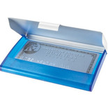 3182 BUSINESS CARD HOLDER W/ ALUMINUM COVER