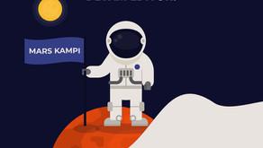 Mars Kampı kaldığı yerden devam ediyor.