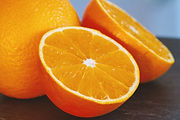 Sweet Orange citrus fruit - Citrus sinensis essential oil