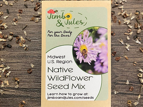 Native Midwest Wildflower Seeds