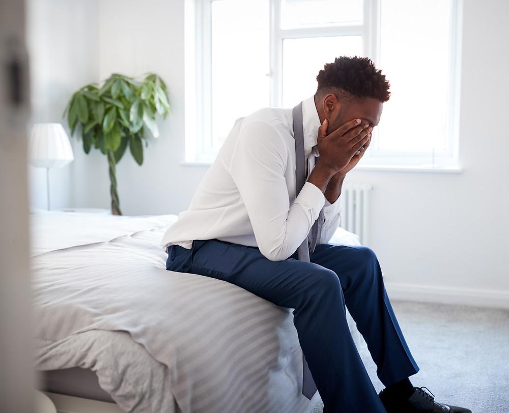 job career stress anxiety grief loss CBD