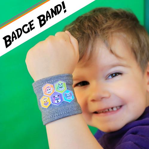 (2) Badge Bands & Badges!