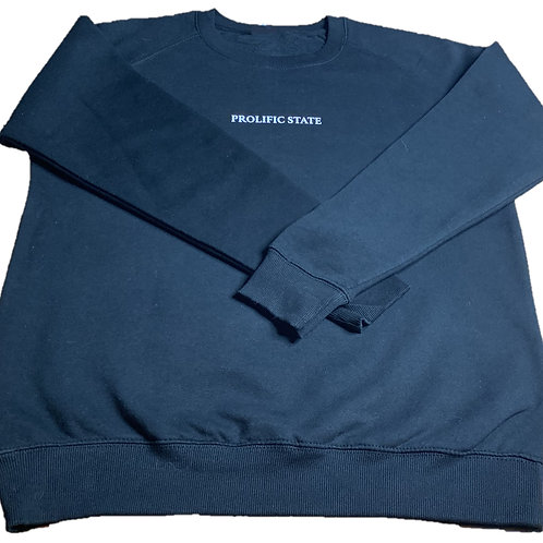 Prolific State Sweater -Navy