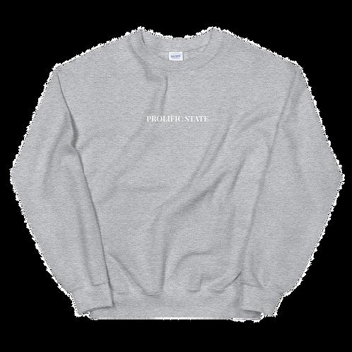 Prolific State Sweater - Grey
