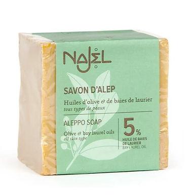 Savon d'Alep huile d'olive et baies de laurier