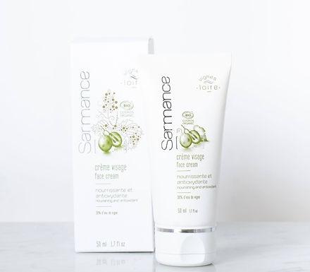 Crème visage nourrissante et antioxydante bio – 50ml