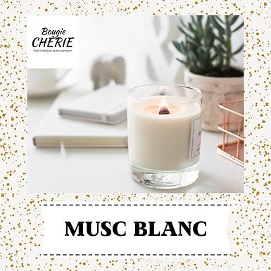 Bougie Chérie 200ml Musc Blanc