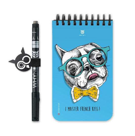 Bloc-notes Pocket Bulldog