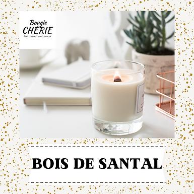 Bougie Chérie 200ml Bois de santal