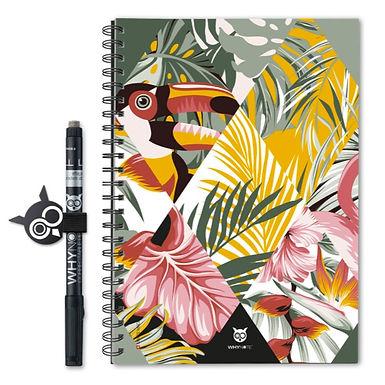Bloc-notes A5 eco Jungle