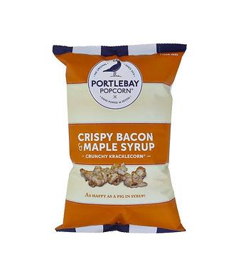 Popcorn bacon croquant & sirop d'érable (sans gluten) 75g