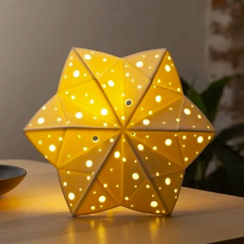 Lampe de table étoile