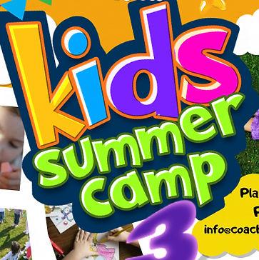Copy of kids Summer Camp Flyer Poster Te
