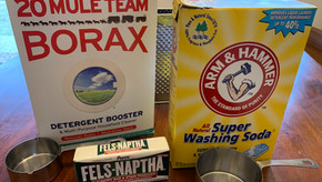 DIY Laundry Detergent Kits are Ready
