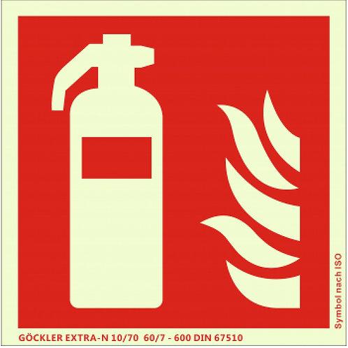 Kennzeichnung Feuerlöscher ISO 7010