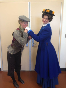 Mary Poppins understudy performance