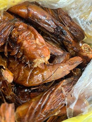 Authentic Nigerian Smoked Prawns