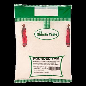 Nigerian Taste Pounded Yam
