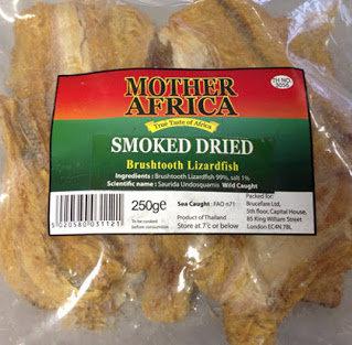 Dried Brushtooth Lizard Fish