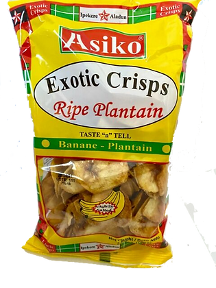 Asiko Plantain Crisp (sweet)