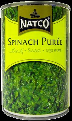 Natco Spinach Puree 380G