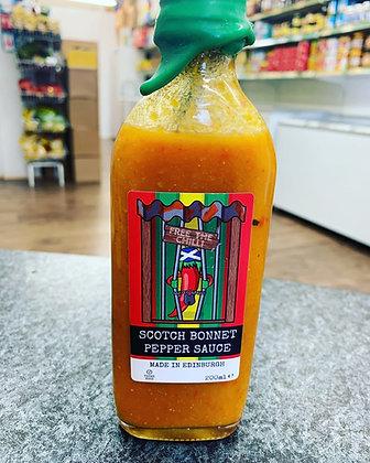 Scotch Bonnet Pepper Sauce